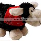 plush stuffed soft Cute Sheep Baby Lamb Standing logo custom imprinted bandana beanbag t-shirt bib tie ribbon animal toys
