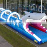 giant inflatable water slide for adult	/inflatable shark belly water slide clearance/ inflatable slip n slide the city