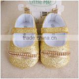 Fashion Bow Mary Jane Sparkle Shoes Dress Baby Shoes