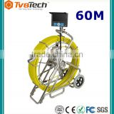 "CCTV Pipe Inspection Camera For Sale Endoscope Video Sewer Drain Cleaner Waterproof,7""TFT LCD Monitor & DVR Video Recording"