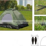 Outdoor 1-2 Person Portable Single Layer Patio Rainroof Pop Up Folding Tent Family Camping Tents