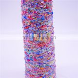 big loop acrylic fancy knitting yarn multicolor china a-rella brand yarn knitting machine