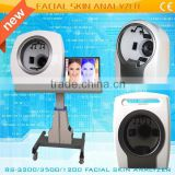 Beautiful Face Scanner Beauty Skin Test Machine magic mirror led tv BS-3200