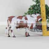 unstuffed plush cheap plastic realistic farm animal toys cow, voice repeating stuffed animal toys