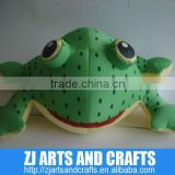 Bead toys frog soft toy