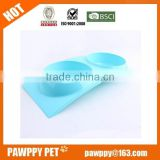New 2015 product Pet Dog Cat Plastic Single Dish Water Food Bowl Feeder