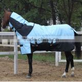 Ripstop Polyester fabric winter combo horse rug