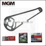 OEM Motorcycle chain sprocket manufacturer, motorcycle drive chain
