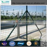 Kenya Galvanized PVC Coated Railway Frame Fence Netting