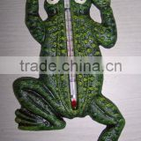 cast iron frog thermometer crafts
