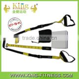 Top quality yoga belt suspension trainer resistance band