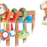 animal play fun baby stuffed cartoon plush monkey with EN71