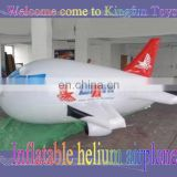 Hot selling inflatable helium airplane