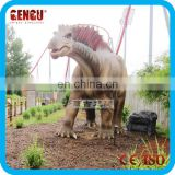 Kids amusement park vivid animatronic dinozauri model for play