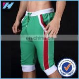 Yihao 2017 men shorts cotton beach boxer sexy sports wear baseball surf capri designer running shorts 2017 new trunks