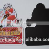 Wholesale advertisting 3D Refrigerator Magnet, good for promotion gifts,hockey and Atlas Pizza advertisement fridge magnetic