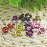 Hot selling colorful metal grommets
