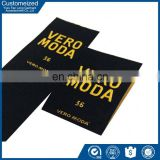 Factory Customized Fashion promotional Recycled heat press clothing labels