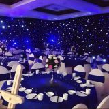 LED Twinkle Curtain for Stage Background LED Star Cloth for sale