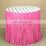 Metallic Shimmer Party, Float Decorations Table Skirt, Fringe, Curtains