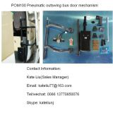 Pneumatic out Swing Bus Door Opening Mechanism 12V/24V RH/LH, Bus Outswing Door Opener (POM100)