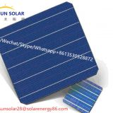 solar cell 5bb monocrystalline solar cell 156x156 mono solar cell 21.6% efficiency