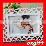 Oxgift Green lace factory wholesale hollow plastic frames 6 inch 7 inch 8 inch 10-inch Creative photo frame