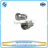 ISO 5675 female threaded hydraulic quick coupling poppet valving design, quick connect couplers