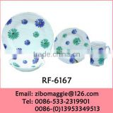 2015 New Design Porcelain Dinnerware with Custom Print for Wholesale Daily Use