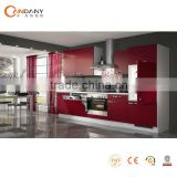 New Chinese style lacquer kitchen cabinet in futuristic styles,kitchen cabinet led lights