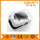 High accuracy medical digital blood oxygen saturation monitor pulse oximeter with memory home SPO2 PR monitor OLED display