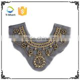 New style pearl beaded lace trim lace collar                                                                         Quality Choice