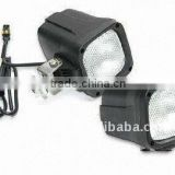 12/24V Heavy-duty HID Work Lights with 35/55W Power, Used in Truck, Fire Engines, Jeep, Excavators
