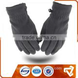 polar fleece dotted hand protect riding glove