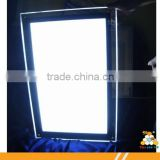 High brightness advertising led light box acrylic photo picture frame                                                                         Quality Choice