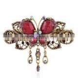 Vintage Colorful Cat Eye Stone Traditional Hair Accessories