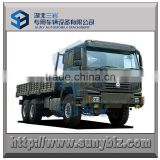 371 hp all wheel drive 6X6 HOWO cargo truck 9500 mm cargo box RHD ( right hand drive) cargo truck