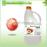 White Peach Flavored Concentrated Fruit Syrup Taiwan Bubble Tea