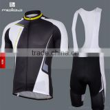 polyester novel sublimation cycling suit Bib style out door sport wear