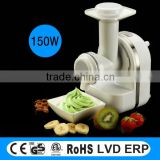 multifunction houshold ice cream maker with juicing and slicing function                                                                         Quality Choice