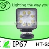Manufacturer Led Light 24w Led Working Light Led Work Light For Offroad Truck,Heavy-duty,Fire Engin