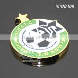 Green Box Packing Round Star Shaped Promotional Club Football Match Customize Sports Game Metal Medal