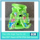 EN71 6P PVC Inflatable life-vest/inflatable kid's swim wear/swim vest