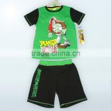 baby clothes 2016 high quality cotton children kids baby suits made in china for plants vs zombies