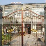 wrought iron entrance main gate with electric opener