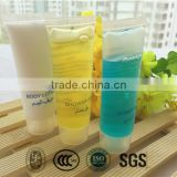 Long and slim hotel 30ml shampoo tube with disposable material vairous fragrance