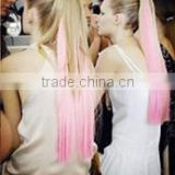 alibaba express hot selling fashion ombre color pony