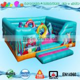 inflatable under the sea children bouncy castle, inflatable playground on sale for toddler