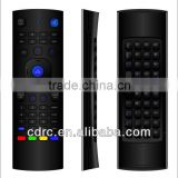 2.4G keyboard and IR TV remote control with Air mouse applys to Smart TV/STB and PC,Network player,for Android