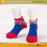 BY-162005 supper man Gifts for children baby sock cotton socks wholesale cartoon kid sock